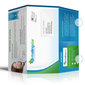 Selfmailer Mailing DIN-lang 6-Seiter inkl. Offsetdruck & Lettershop
