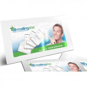 Panorama Werbefenster Mailing - Briefpapier 4/0, Folder, Kuverts inkl. Offsetdruck & Lettershop