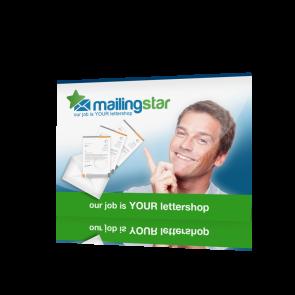 Postkarten Mailing A4 297x210mm inkl. Offsetdruck & Lettershop