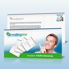 Postkarten Mailing online kalkulieren